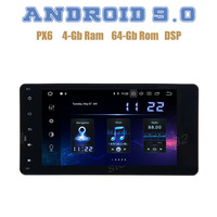 PX6 Android 9.0 Car GPS Radio player for mitsubishi ASX lancer x outlander pajero with IPS DSP 4+64GB wifi 4g usb Auto Stereo