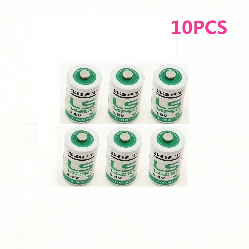 10PCS/LOT New industrial equipment lithium battery LS14250 1 / 2AA 3.6V PLC lithium battery free shipping image