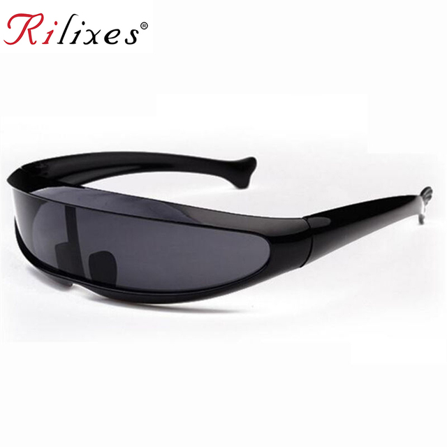 RILIXES kids Sunglasses X-Men Personality Laser Glasses Cool Robots Sun Glasses Driving Sunglass Goggles with bag