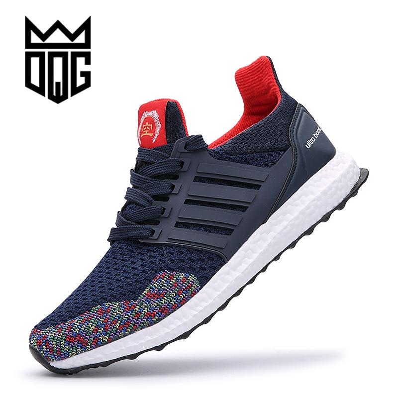 DQG Heren loopschoenen Outdoor lichtgewicht wandelschoenen Ademend Mesh Heren Sneakers Sportschoenen voor heren Jogging schoenen