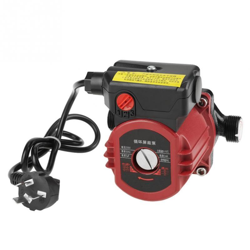 Pompe à eau 220 V pompe de Circulation 100 W G3/4''Thread pompe à eau de Circulation à haut rendement pour chauffe-eau solaire