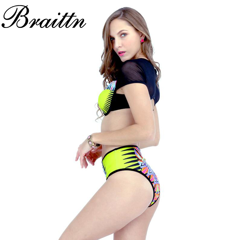 Envío gratis 2017 nuevos productos enumerados MS BRAITTN empalme sexy fisión bik