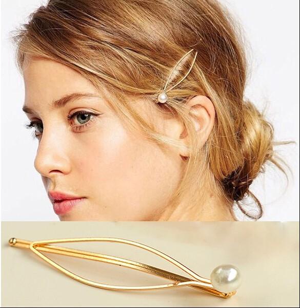 HTB1n5_YKVXXXXcqXXXXq6xXFXXXs Elegant Women's Gold Leaf Trinket With Faux Pearl Accent
