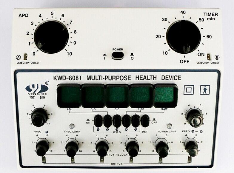 KWD808I Eletro Acupuncture Stimulator(6 Channels Output) MULTI-PURPOSE ACUPUNCTURE STIMULATOR HEALTH DEVICE pig acupuncture model animal acupuncture model