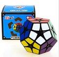Kingcube SS Megaminx ShengShou 2x2 Megaminx cubo Mágico Negro 2x2 cubo de la Velocidad Negro