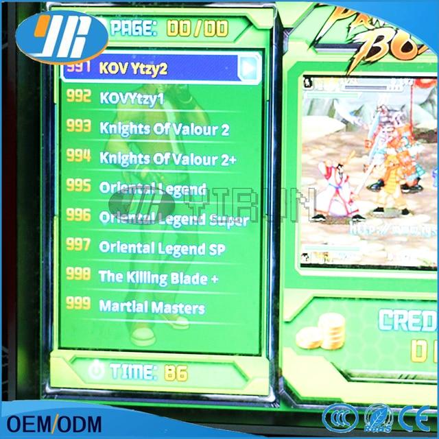 1 Pz Prezzo di Fabbrica 5 S Bordo di Jamma Arcade 999 in 1 PWB del Gioco Arcade Macchina del Gioco Cabinet Cartuccia di Gioco scheda madre