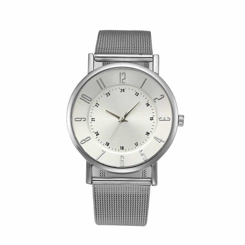 Montres femmes marque de luxe mode dames montre classique genève Quartz acier inoxydable montre-bracelet Relogio feminino M03 * YL