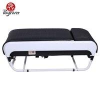 BYRIVER Корея складной V3 сканирования тела Функция Термальность нефрит, массажная кровать стол массажер