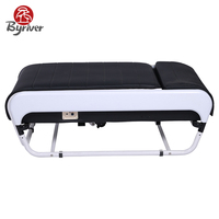 BYRIVER Korea Folding Electric V3 Scan Body Function Thermal Jade Stone Massage Bed Table Massager