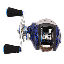 14+1BB 6.3:1Ball Bearings baitcasting reel carretilha reel High Speed Left/Right Hand Baitcasting molinete de pesca casting reel