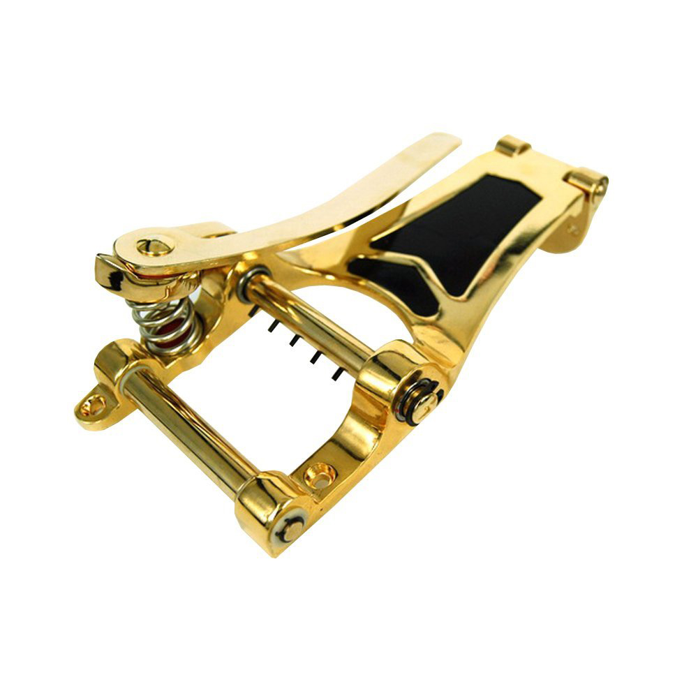 Sir The bridge pull string tremolo system Electric guitar bridge big shake stem rod drawing board crank (gold)