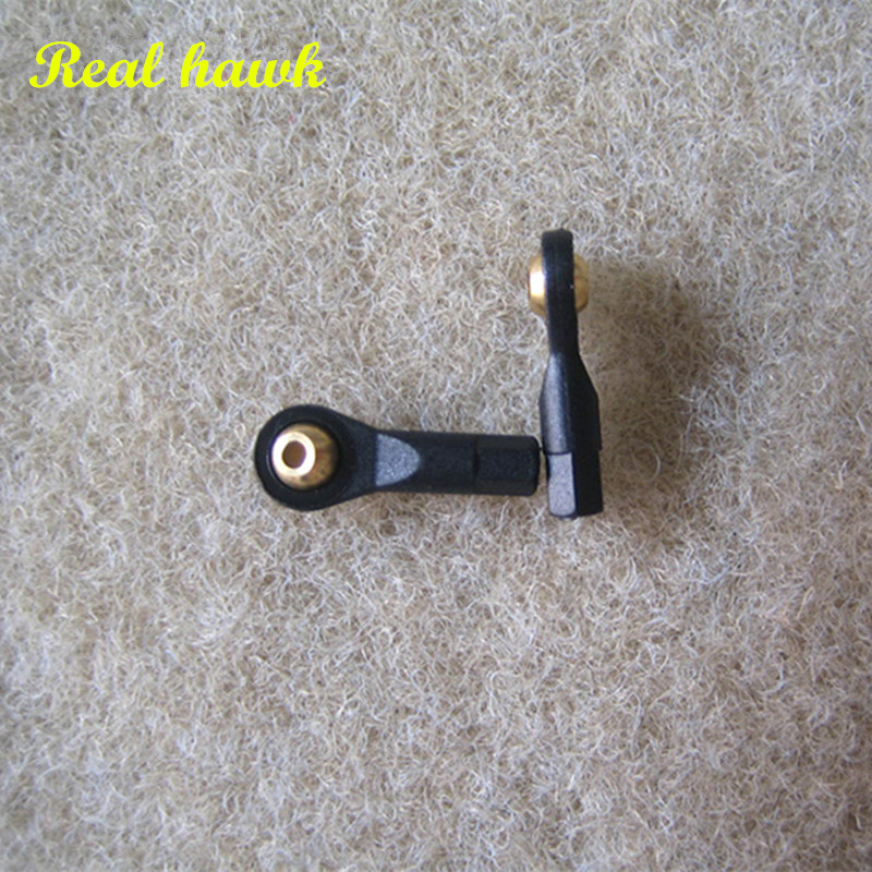 20pcs/lot heavy duty ball and roller link M2/M2.5/M3 rc airplane boat car ball linkage ball joint push pull roller link 20pcs aluminum m3 link rod end ball joint cw ccw for 1 10 rc car crawler buggy