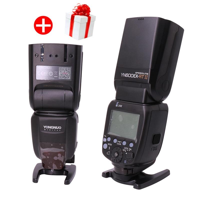 Original Yongnuo YN600EX RT II TTL HSS Master Flash Speedlite 1 8000s 2 4G with Flash