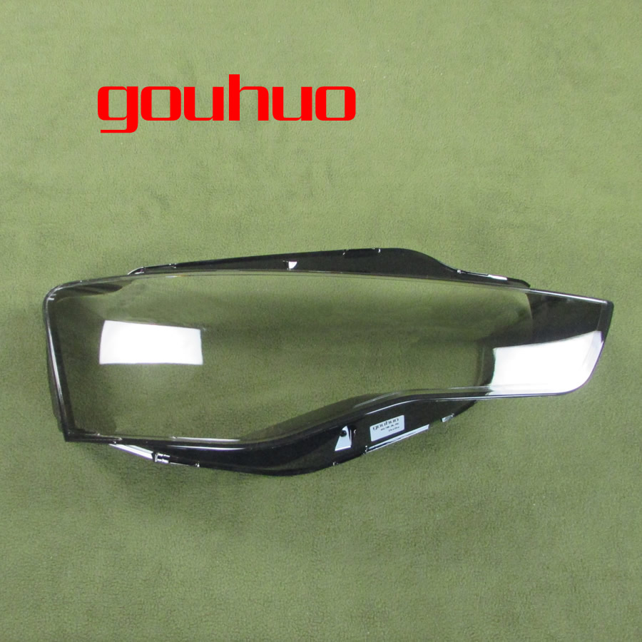 1PCS headlamp lampshade transparent cover headlights shell lampshade glass for Audi A5 12-16
