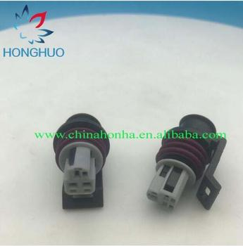 5sets 3pin for Delphi LS TPS AEM MAP GT150 3Pin Female Auto Connector sensor throttle plug connector 15397275 15397149 image