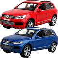 Free Shipping Gift for baby 1:32  Volkswagen Touareg Alloy car Whit Pull Back Delicacy model decoration boy children toy