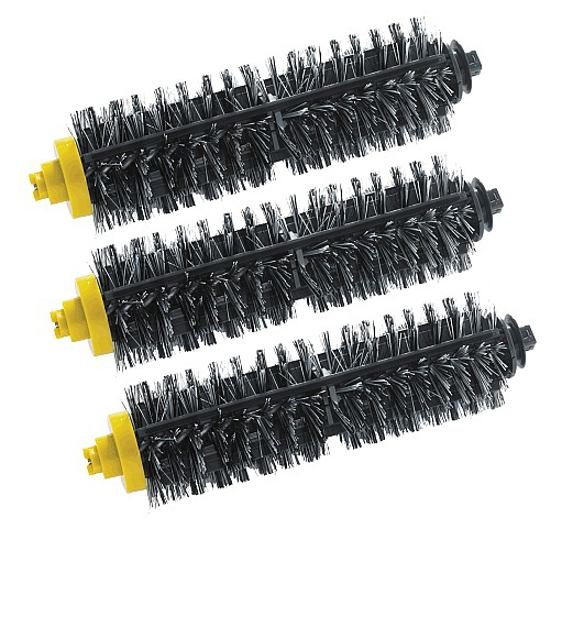 3 x Bristle Brush for iRobot Roomba 700 Series Vacuum Cleaning Robots Roomba 770 780 790. 14pcs free post new side brush filter 3 armed kit for irobot roomba vacuum 500 series clean tool flexible bristle beater brush