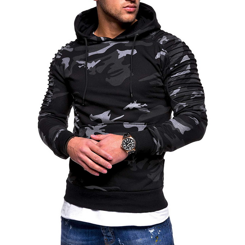Laamei Camouflage Hoodies Men 2019 New Fashion Sweatshirt Male Camo Hoody Hip  Autumn Winter Military Hoodie Plus Size 3XL 1