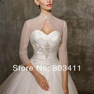 Image 2 - Custom Made Bridal Wedding Dress Bolero Jacket Wraps Coat