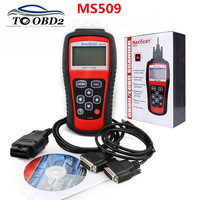 Best Quality Professional Auto OBD2 Code Reader MS 509 Code Reader OBD 2 II Scanner PK MS509 work for many cars