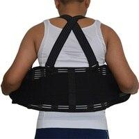 Hohe Qualität Abnehmen Gürtel Für Frauen & Männer Schwarz Sport Taille Unterstützung Neopren Sicherheits Turnhalle Gürtel Low Back Protector 2XL