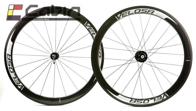 Big sale 38 50 60 88mm clincher tubular track bike carbon wheel 700C track bike carbon
