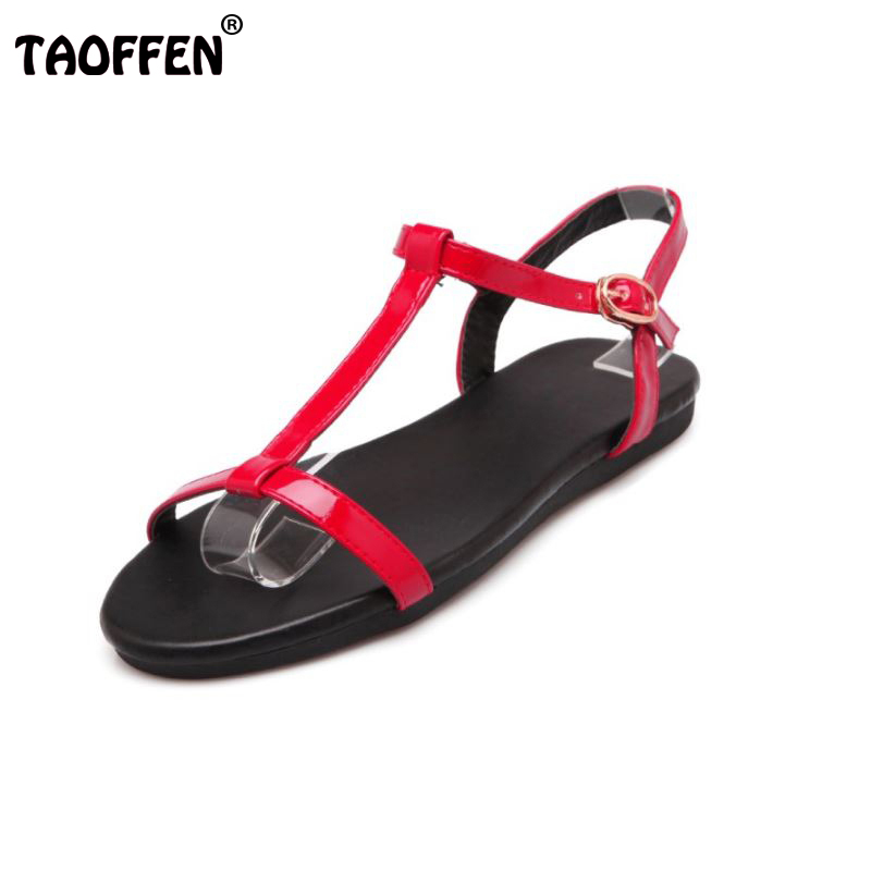Women Sandals Flats Summer Shoes Women Sandalias Lady T-Strap Fashion Beach Dress Flat Flip Flops Women Shoes Size 35-40 PA00305