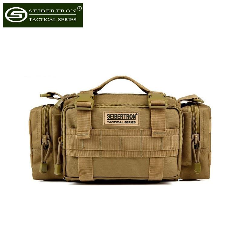Seibertron Tactical Utility Response Shoulder Hand Bag Multipurpo SE Waist Bag Outdoor 3P Waist Bag Camping Hiking Tactical Bag