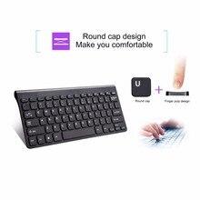 Universal Mini Portable 2.4G Wireless Keyboard Ultra Thin Energy Saving Battery Powered fo