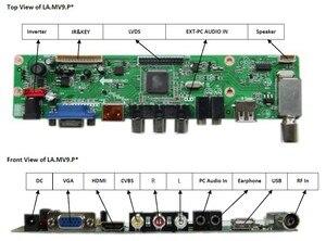 "Image 2 - TV + HDMI + VGA + AV + USB + 오디오 TV LCD 드라이버 보드 19.5 ""M195FGE L20 LM195WD1 TLC1 M195RTN01 1600*900 LCD 컨트롤러 보드 DIY 키트"
