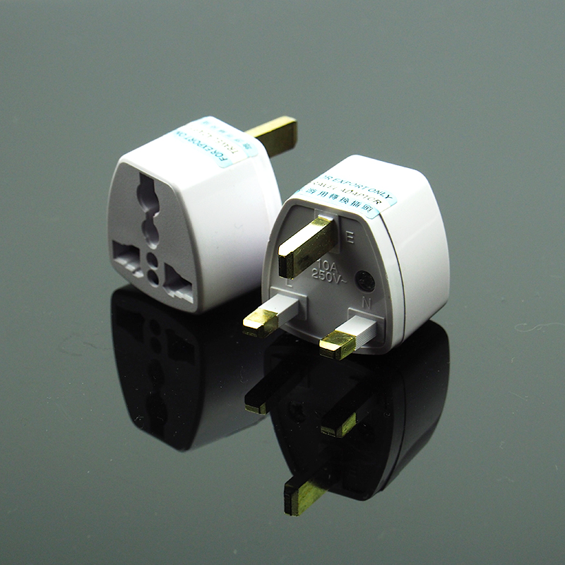 Universal AC Power AU UK US to EU Plug Adapter Socket Conversion Adaptor Converter for Travel Home Use Socket