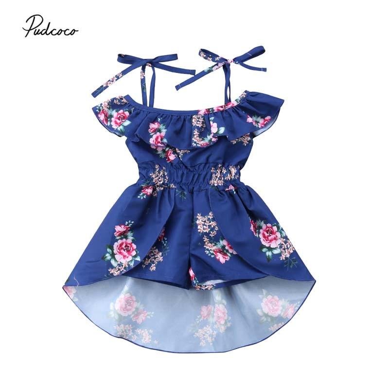 Toddler Kids Baby Dress...