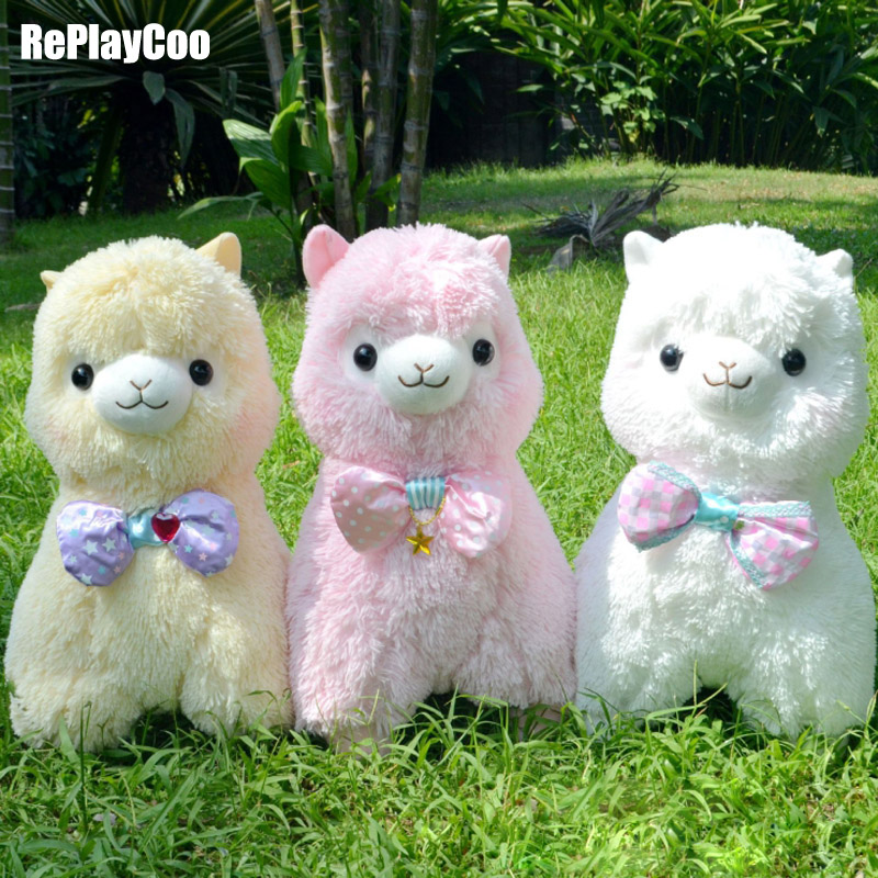 45cm/18'' Kawaii Alpaca Plush Toy Alpacasso Stuffed Animal Soft Alpaca Stuffed Kids Toys Baby Toy Alpacasso Gift For Children 13