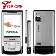 Unlocked 6500S Original Nokia 6500 Slider Single Core Slide Cell Phone 3G Bluetooth Mp3 Player 3.15MP Mobile Refurbished Phone