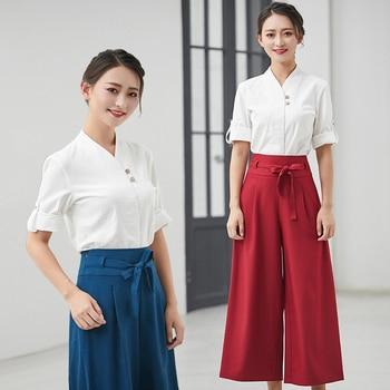 2018 Spring/Summer Beauty Hospital Work Wear Clothes High Quality Beautician Overalls Beauty Salon Uniform 2pcs Set SPA Clothes