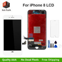 Hot Truth 100 Tested LCD For IPhone 8 8 Plus Display Touch Screen Digitizer Assembly AAA