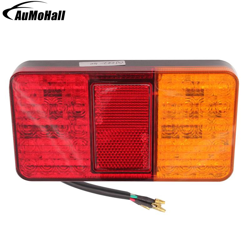 2 Pcs Tail Lights LED Car Light 40 LED Trailer Stop Indicator Reverse Car Lamps