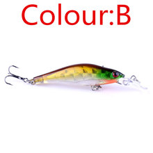 1PCS Laser Sinking Slowly Minnow Fishing Lure 8.5CM 6.5G Wobbler Artificial Fly Fishing Hard Bait Carp Crankbait Fishing WD-215