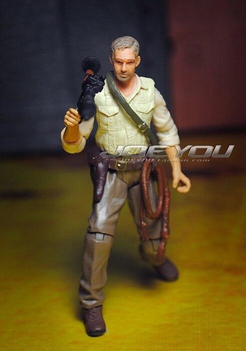 Limitado! 11 CM Alto Juguete Clásico DC Indiana Jones Viejo Jones figura de acci