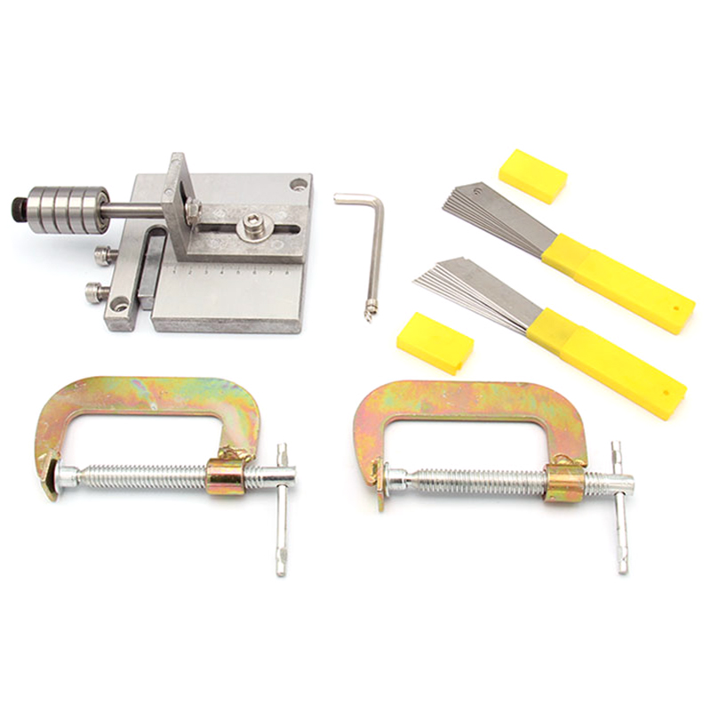Leather Craft Cutting Leather Strap Cutter Splitter Paring Tool Strap Belt Cutting Machine Skiver Arts Crafts Sewing Tools