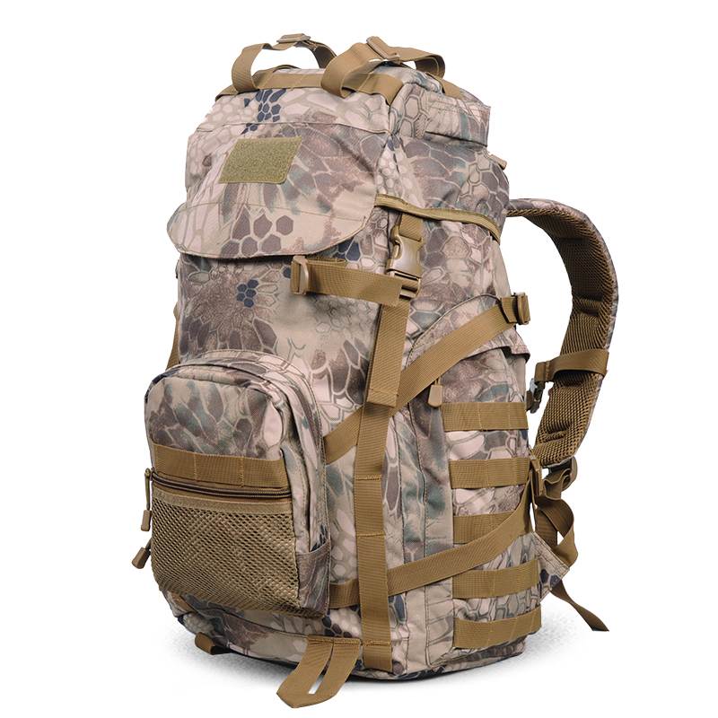 50L Molle Tactical Outdoor Assault Military Rucksacks Camouflage Backpack Camping Bag New Style Sports Mountain top backpack outlife new style professional military tactical multifunction shovel outdoor camping survival folding spade tool equipment