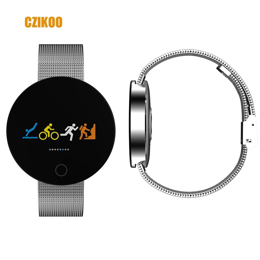 Nouveau Bluetooth Montre Smart Watch IP67 Étanche Fréquence Cardiaque Moniteur de Pression Artérielle Smartwatch Bracelet Pour Iphone Xiao mi mi bande 2 3
