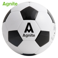 Agnite children soccer ball pvc 65cm size 4 woman Professional football training soccer match balloons Tough wear resistance