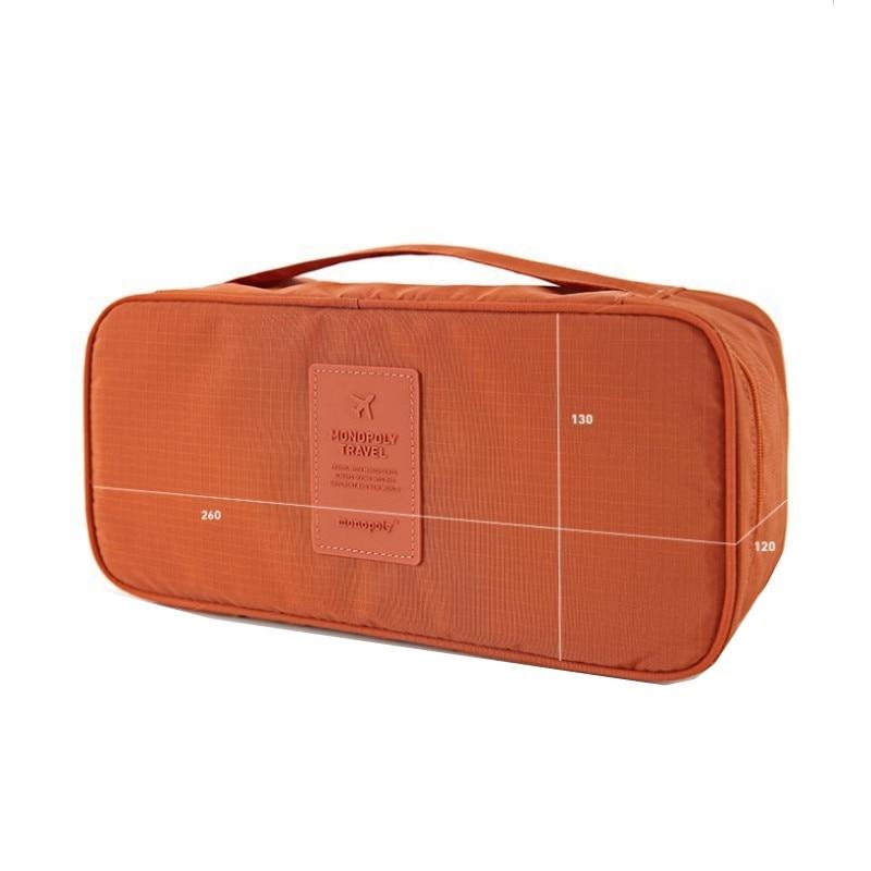 SAFEBET Brand Bra Underwear Women Organizers Travel Bag Waterproof Makeup bag Toiletries Storage Bra Bag Travel Women Bag