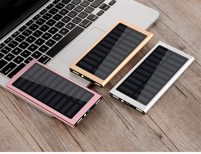 Waterproof 30000mAh Solar Power Bank in Metal Shell Design with Dual-USB Ports 14