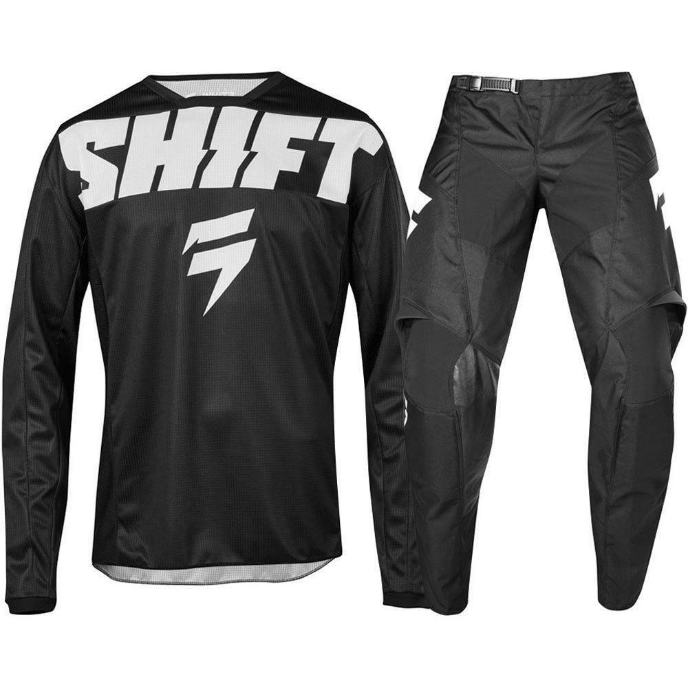 2019 NEW MX WHIT3 Label York Black Jersey Pants Adult Motocross Gear Set Racing Gear Combination