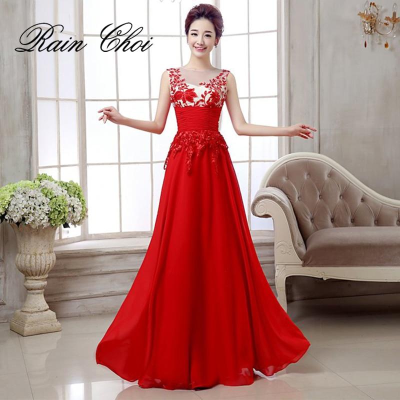 Sexy Evening Dress  2019 Robe De Soiree Chiffon With Applique Dresses Vestido Festa