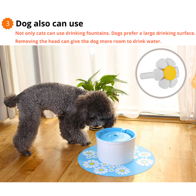 Automatic Pet's Electric Drinking Fountain