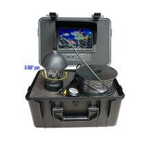 HD 700tvl 360 градусов Подводная Водонепроницаемая камера с кабелем 20 м CCD камера