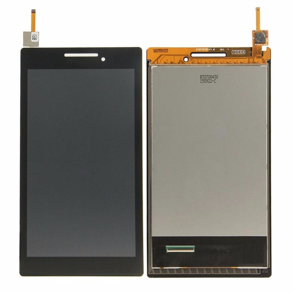 LCD Assembly For Lenovo IdeaTab 2 A7-20 Balack Color LCD + Touch Screen Digitizer Panel Glass Sensor Replacement Parts 7inch